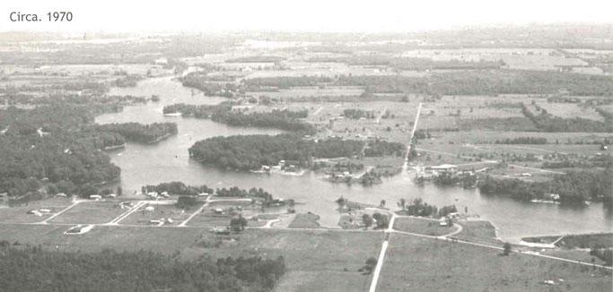 Roaming Shores 1970 Aerial