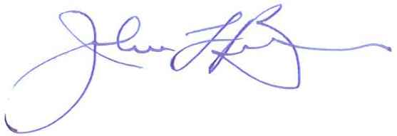 Mayor John Ball Signature
