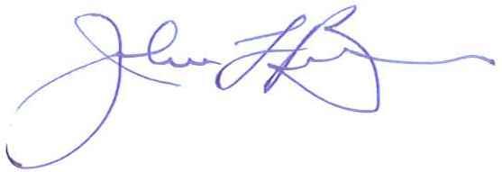 Mayor John Ball Signature